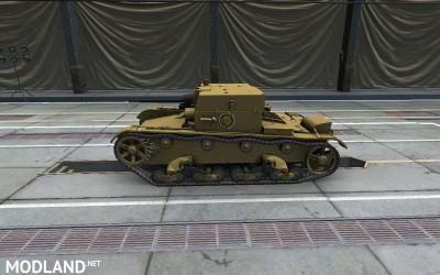Girls und Panzer Anzio skin for AT-1 4 [1.2.0], 2 photo
